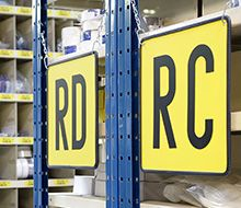 Warehouse Labels & Signs