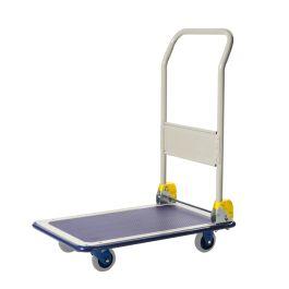 Prestar foldable steel platform trolley, load capacity 150 kg