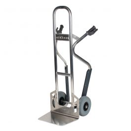 Matador NST250CT aluminum hand truck with stair glides; 350 kg load capacity