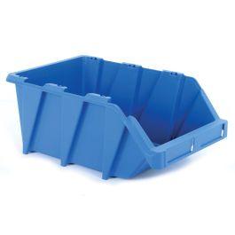 Plastic storage bin 265x420x178 mm