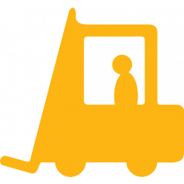 Forklift Aisle Marking Sign, Anti-slip