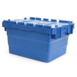 Attached lid container 300x400x200 mm