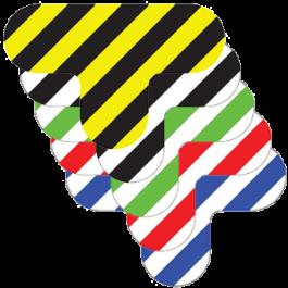 T-piece - Hazard Stripes