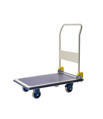 Prestar foldable steel platform trolley, load capacity 300 kg
