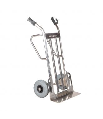 Matador NST500CT aluminum hand truck with XL loading platform; 350 kg load capacity