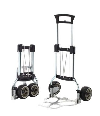 RuXXac Cross folding hand truck, load capacity 100 kg