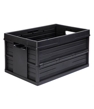 Evo Box collapsible crate - 46 liter, black