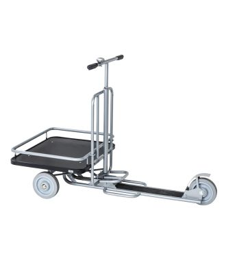 Kongamek industrial scooter with loading platform