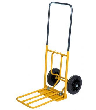 Kongamek hand truck with collapsible loading platform, 150 kg capacity