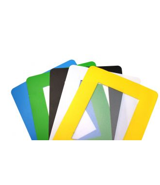 ColorCover self-adhesive transparent document cover for the floor (10 pack)