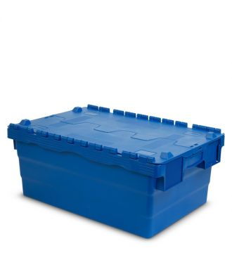 Attached lid container 400x600x250 mm