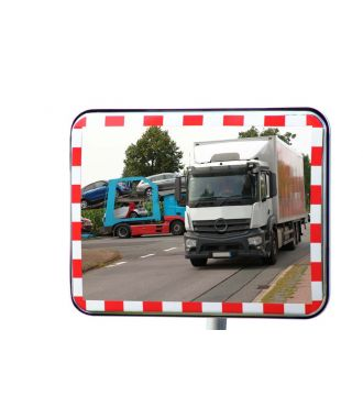 Traffic mirror with reflectors UNI-SIG