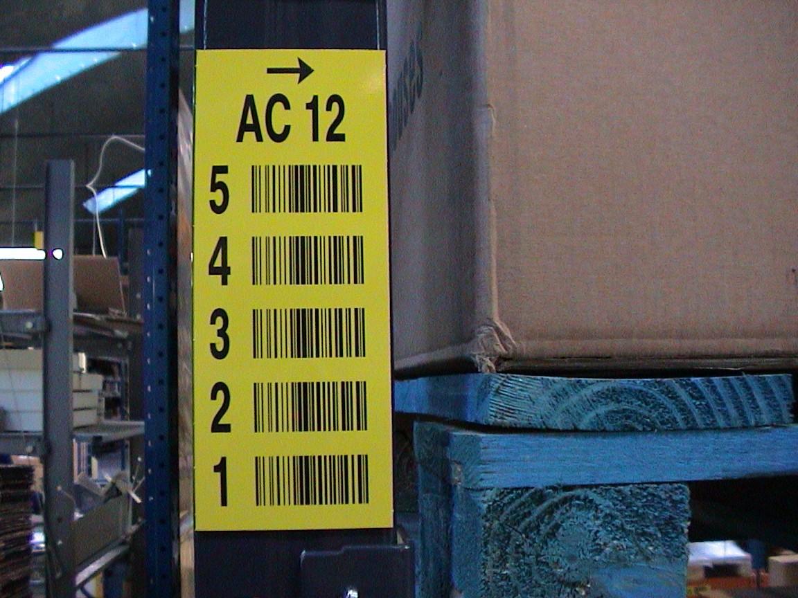 Vertical multi-label
